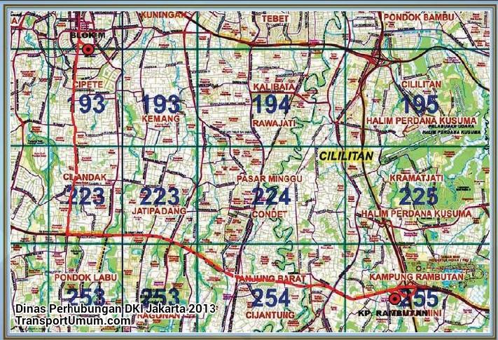 kopaja s 605 blok m - kampung rambutan_wm r