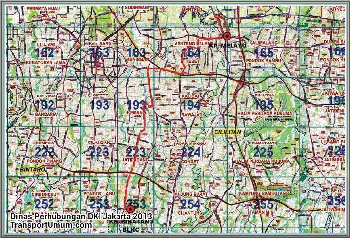 kopaja s 612 ragunan belakang - kampung melayu_wm r