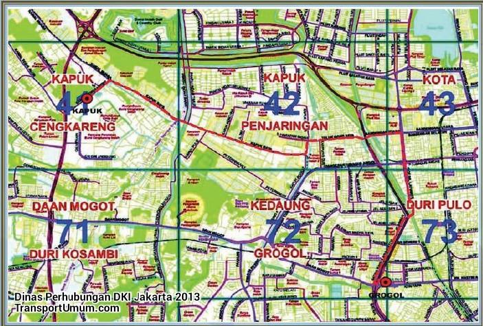 metromini b 83 grogol - kapuk_wm r
