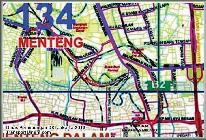 metromini s 61 manggarai - kampung melayu_wm r