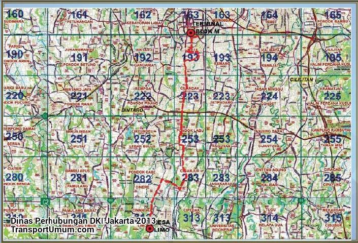 metromini s 619 blok m - cinere - desa limo_wm r