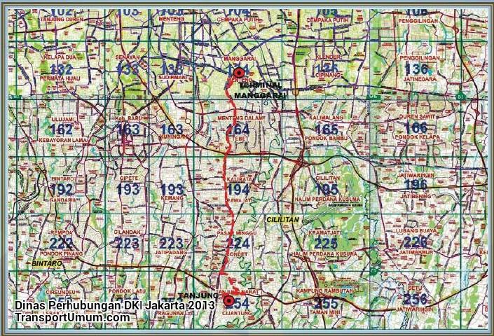metromini s 62 manggarai - tanjung barat_wm r