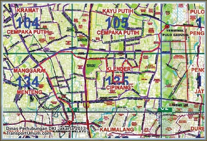 metromini t 46 pulogadung - kampung melayu_wm r