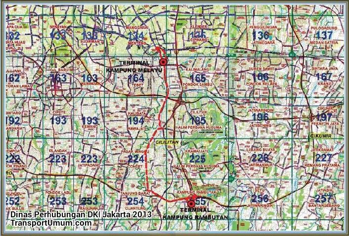 metromini t 53 kampung melayu - kampung rambutan_wm r