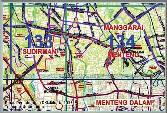 mikrolet m 23 manggarai - karet pedurenan_wm r